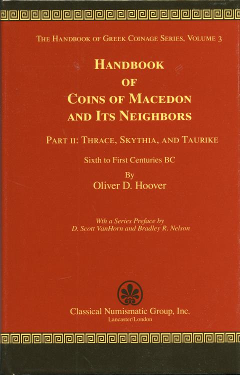 Ancient Coins - Hoover:  3.2 Handbook of Coins of Macedon and its Neighbors. Part 2.