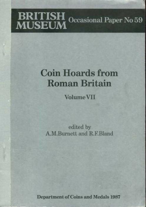 World Coins - Burnett & Bland: Coin Hoards from Roman Britain VII