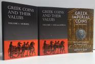Ancient Coins - Sear: Greek Coins & Values Vol. 1; Vol 2; Greek Imperial. 3 Volume SPECIAL REDUCTION