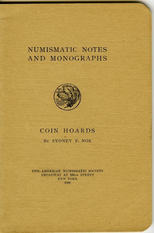 Ancient Coins - Noe, Sydney: NNM 1. Sydney P.: Coin Hoards