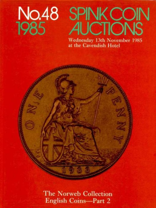 Ancient Coins - Spink: THE NORWEB COLLECTION. ENGLISH COINS. PART 2, HARDBOUND EDITION