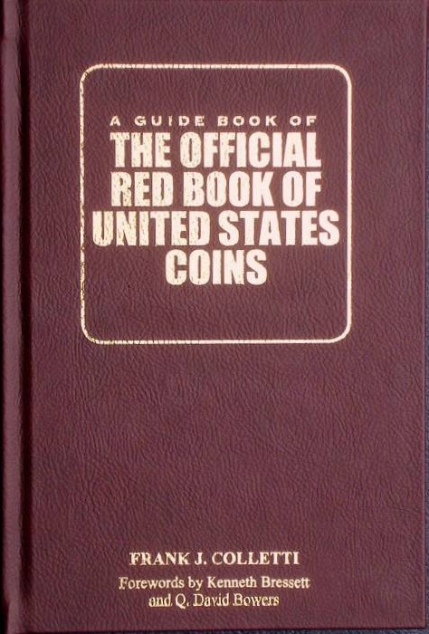 "US Coins - Colletti ""The Guide Book on the Guide Book"""