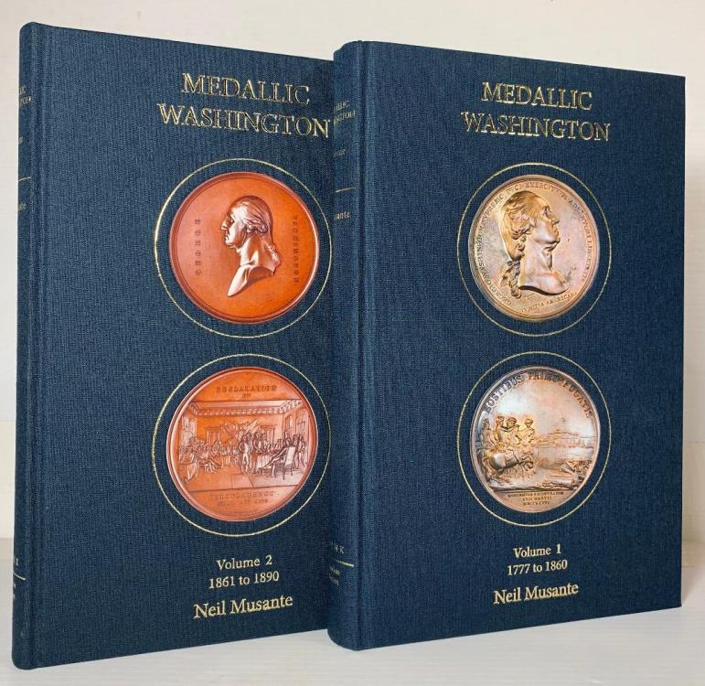 US Coins - Musante: Medallic Washington