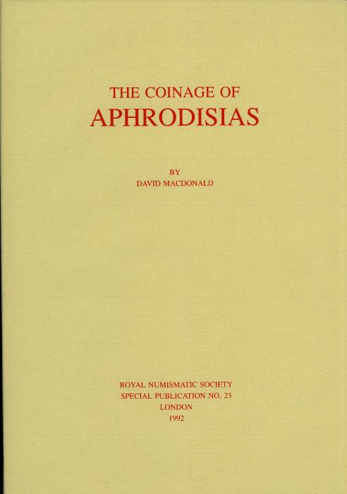 Ancient Coins - MacDonald: The Coinage of Aphrodesias