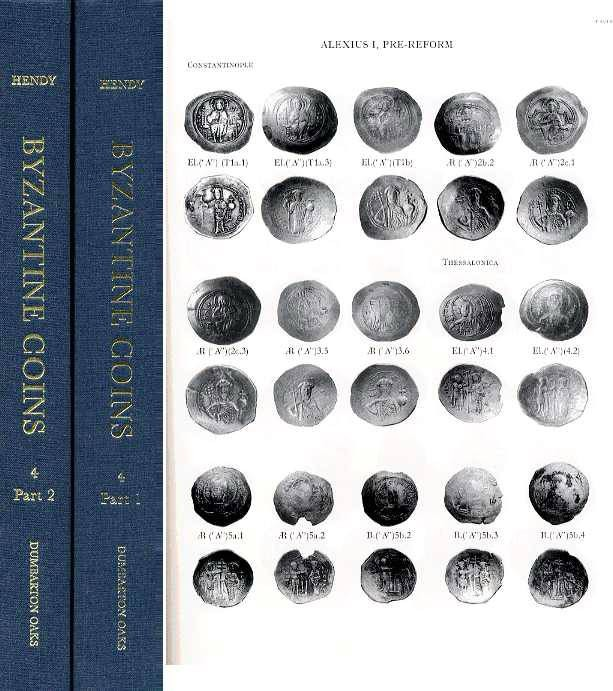 Ancient Coins - Dumbarton Oaks. 4. CATALOGUE OF THE BYZANTINE COINS IN THE DUMBARTON OAKS COLLECTGION AND IN THE WHITTEMORE COLLECTION, VOLUME IV,  Alexius I- Michael VIII, 1081-1261