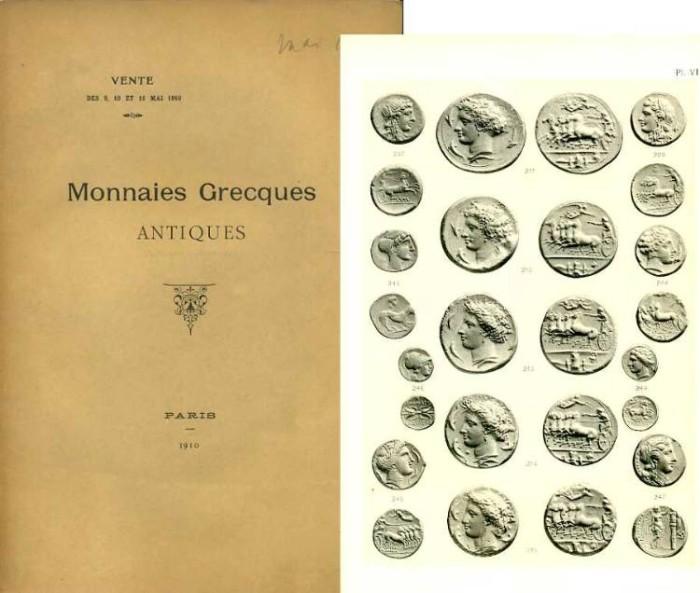 Ancient Coins - Rollin & Feuardent: Monnaies Grecques, 1910