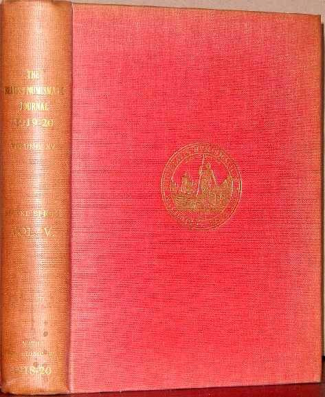 Ancient Coins - BRITISH NUMISMATIC JOURNAL 1919-1920