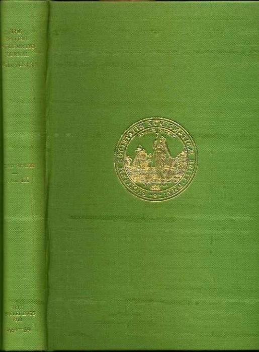 Ancient Coins - British Numismatic Journal 1958-1959