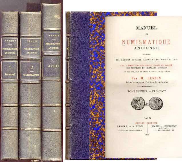 Ancient Coins - MANUEL DE NUMISMATIQUE ANCIENNE