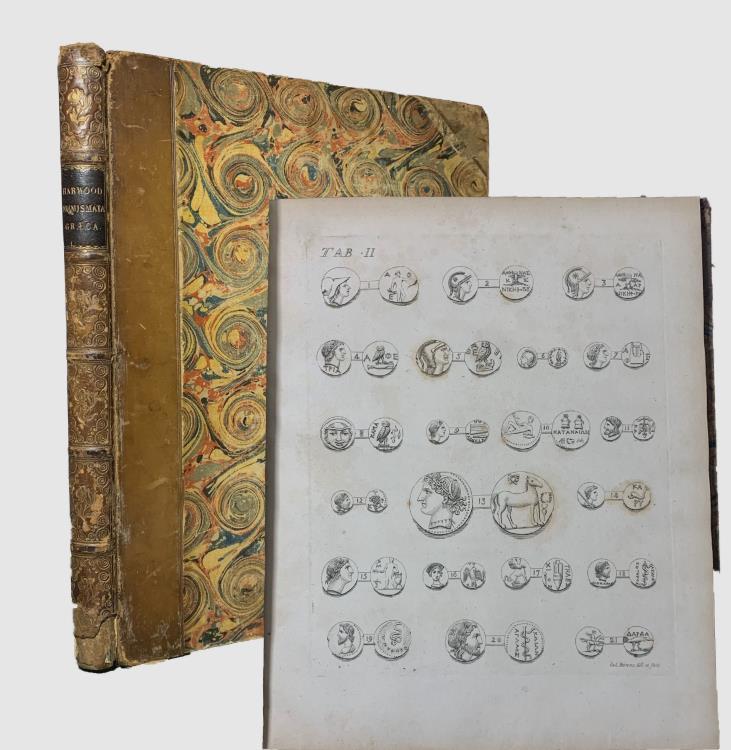 Ancient Coins - Harwood, Eduardo: E. Populorum et urbium selecta numismata Graeca ex aere; descripta, et figuris illustrata