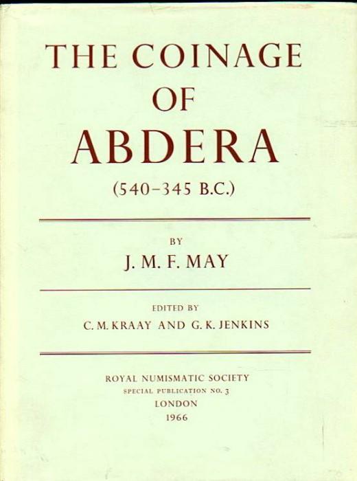 Ancient Coins - May w/Kraay & Jenkins: The Coinage of Abdera (540-345 BC)