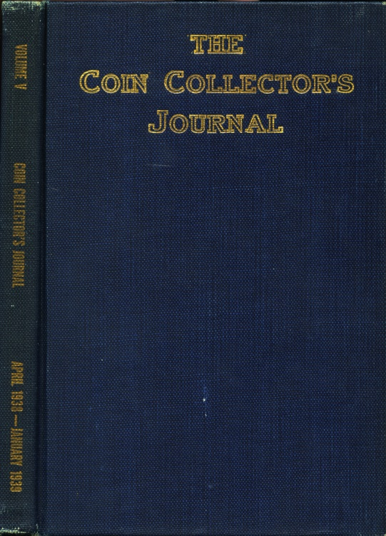 US Coins - Raymond, Wayte: The Coin Collector's Journal, Vol. V