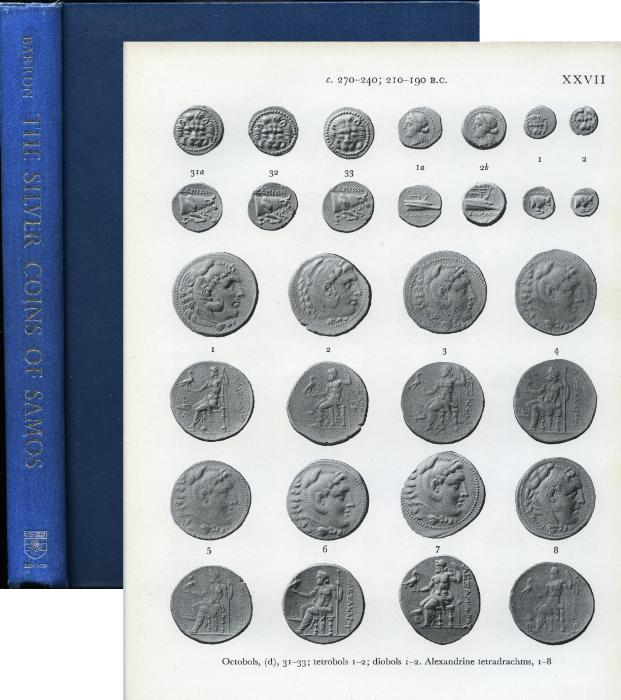 Ancient Coins - Barron, The Silver Coins of Samos