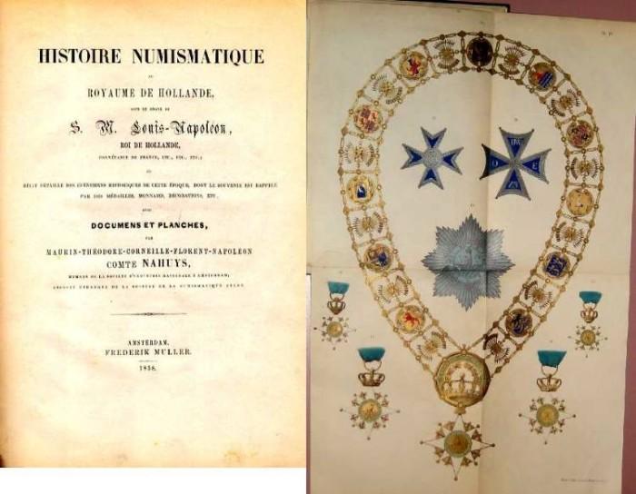 Ancient Coins - HISTOIRE NUMISMATIQUE DU ROYAUME DE HOLLANDE SOUS LA REGNE DU S. M. LOUIS NAPOLEON, ROL DU HOLLANDE
