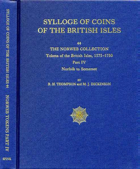 World Coins - SCBI 44. The Norweb Collection, Tokens 4, 1575-1750. Norfolk to Somerset
