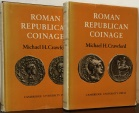 Ancient Coins - Crawford, Michael H: Roman Republican Coinage, 1974 Best Edition