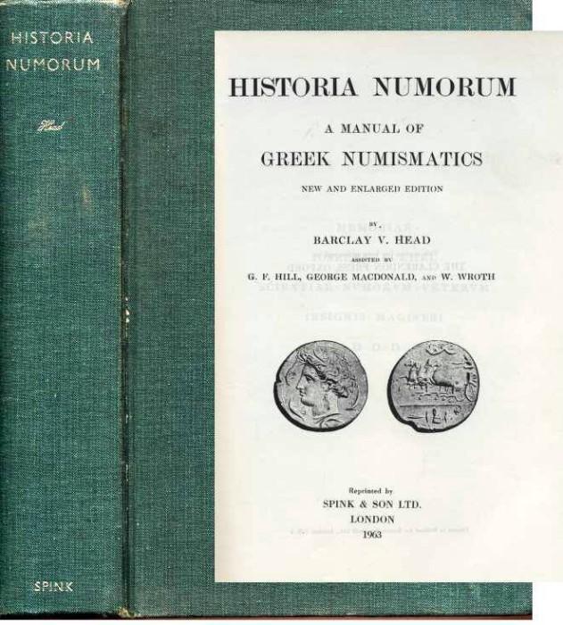 Ancient Coins - Head: Historia Numorum