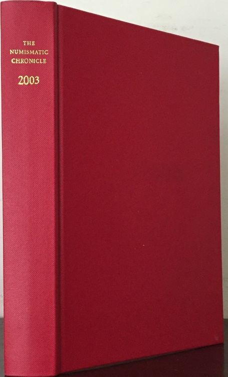Ancient Coins - Numismatic Chronicle 2003