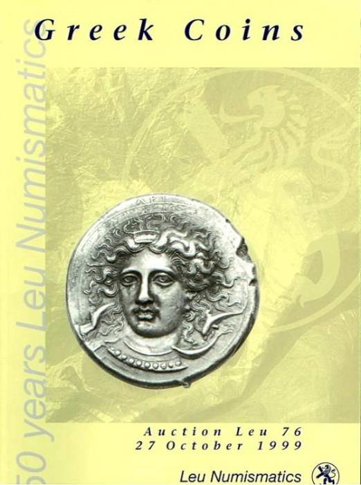 Ancient Coins - Leu 76. Greek Coins.