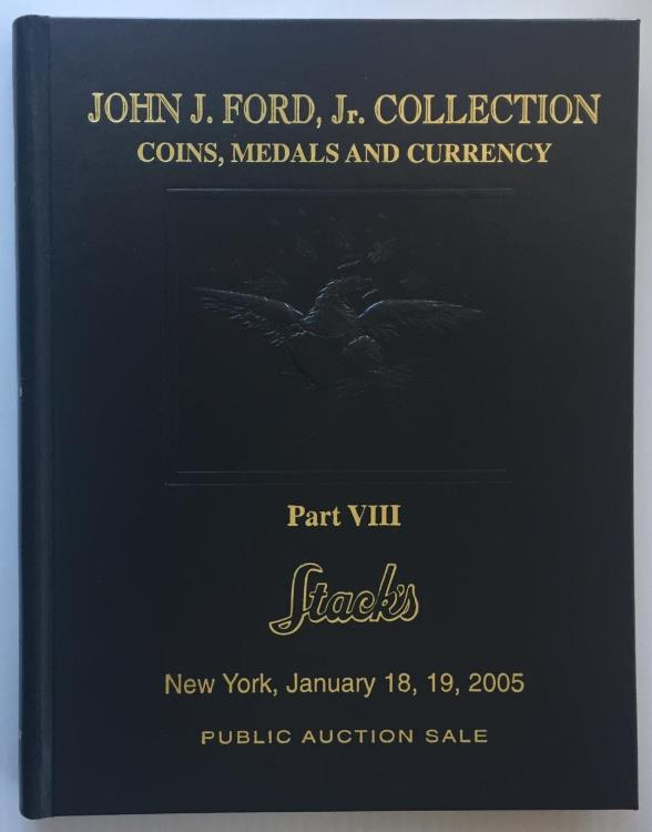 US Coins - Stack's: The John Ford Collection. Part VIII, Obsolete and Early American Currency.  Leatherbound Edition
