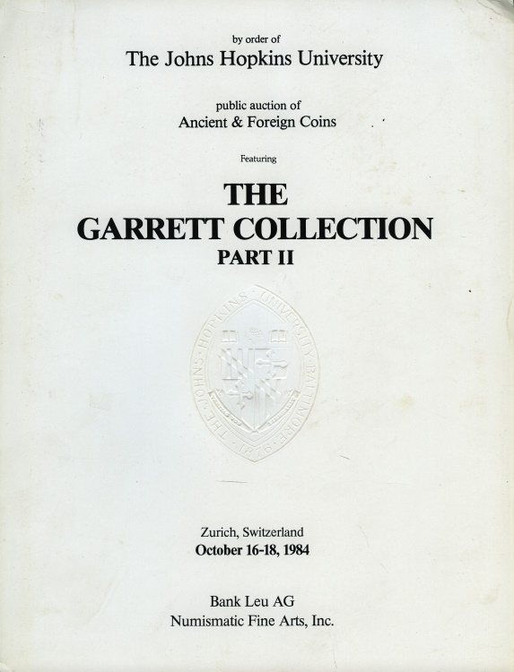 World Coins - Bank Leu AG: The Garrett Collection Part II