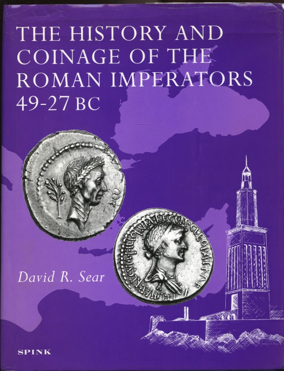 Ancient Coins - Sear: The History and Coinage of the Roman Imperators 49-27 BC