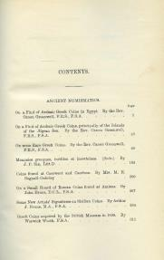 Ancient Coins - Royal Numismatic Society: The Numismatic Chronicle, Third Series, Volume X, 1890