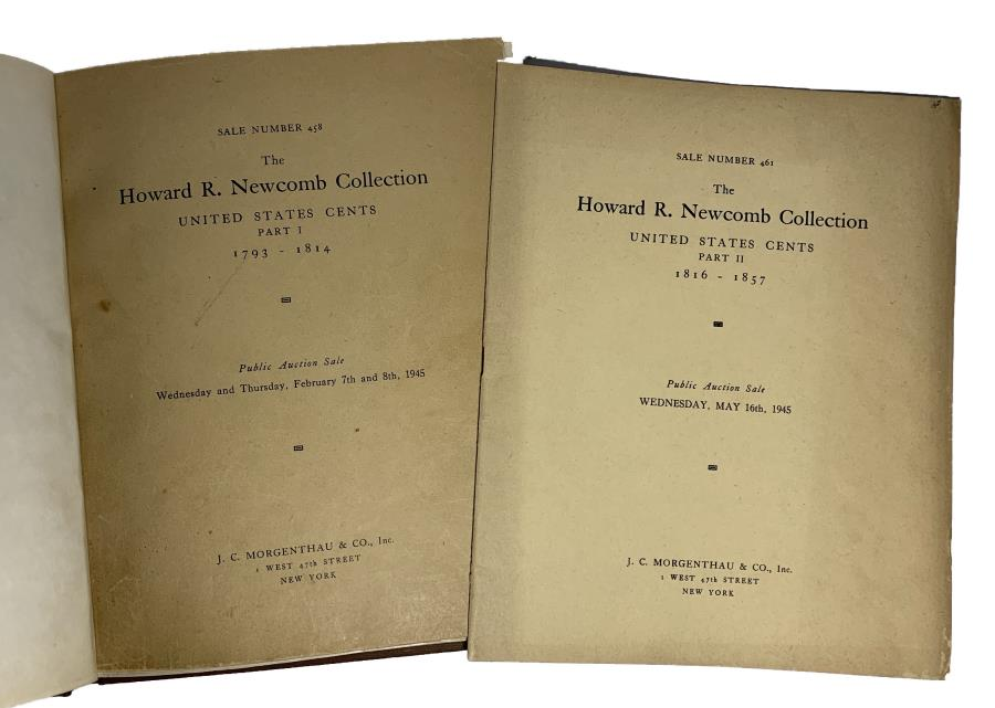 US Coins - Raymond & Mcallister: The Howard R. Newcomb Collection. Both Parts