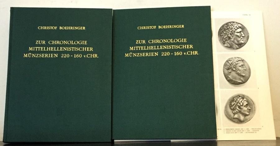 Ancient Coins - Boehringer: Zur Chronologie Mittellenistischer Munzserein, 220-160 v. Chr