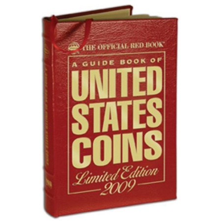 Ancient Coins - Yeoman: A Guide Book of United States Coins, 2009, Full leather edition