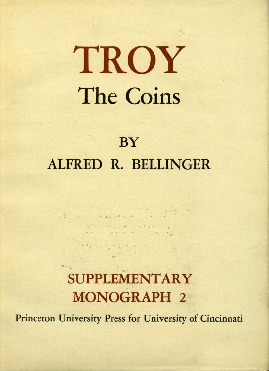 Ancient Coins - Bellinger: Troy. The Coins.