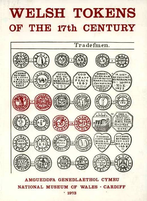 Ancient Coins - Boon. Welsh Tokens of the 17th Century