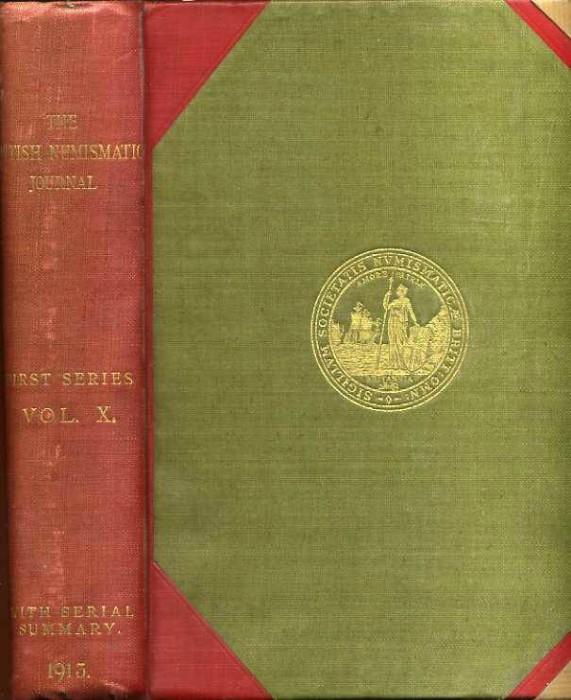 Ancient Coins - BRITISH NUMISMATIC JOURNAL 1913