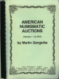 Us Coins - Gengerke: American Numismatic Auctions,