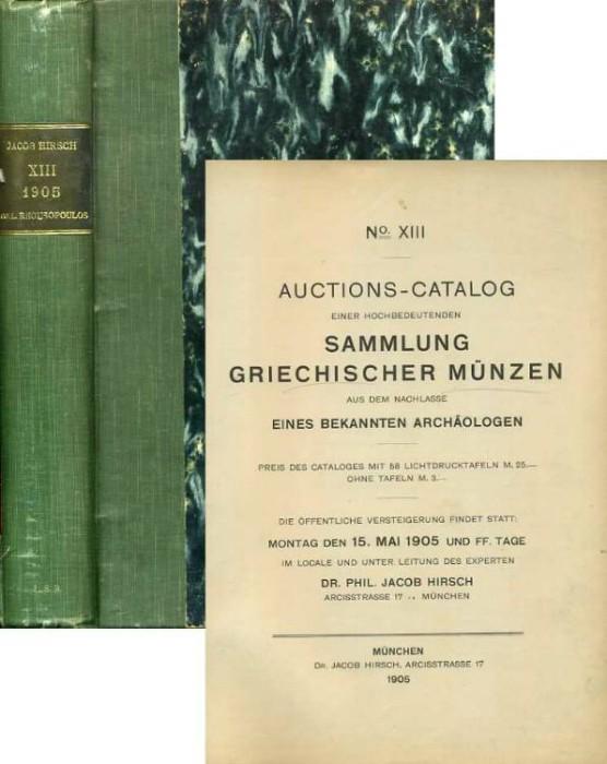 Ancient Coins - Hirsch 13. Sammlung Griechischer Munzen Rhousopoulos