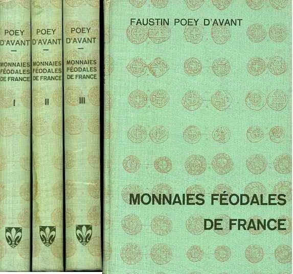Ancient Coins - Poey d'avant: Monnaies Feodales de France, Graz reprint
