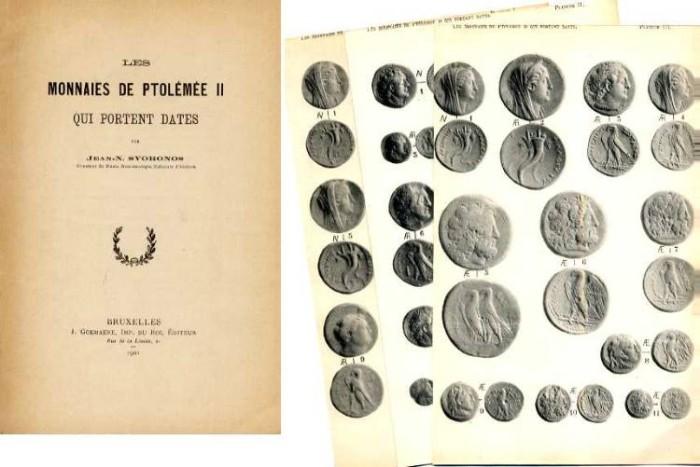 Ancient Coins - LES MONNAIES DE PTOLEMEE II QUI PORTENT DATES