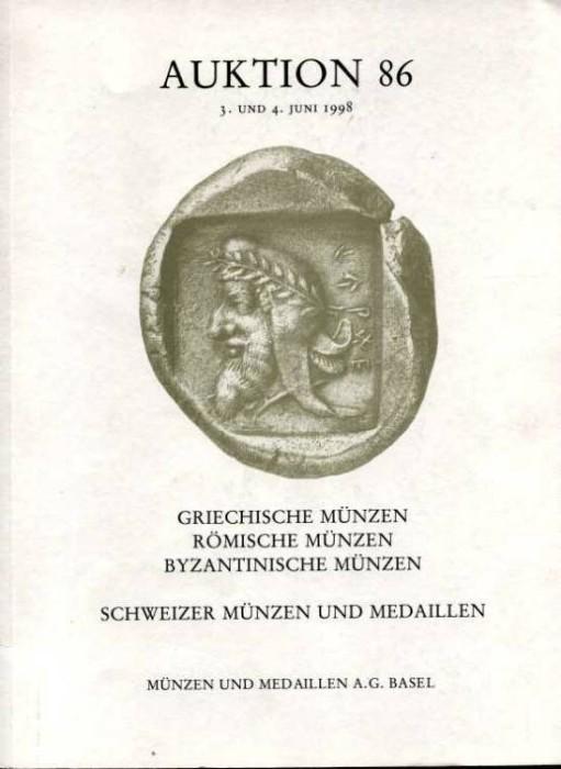 Ancient Coins - Munzen und Medaillen Sale 86