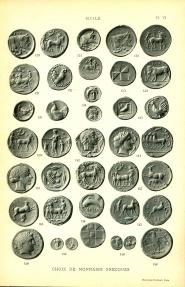 Ancient Coins - Rollin and Feuardent, Choix de monnaies et médailles du cabinet de France, Monnaies grecques d'Italie et de Sicile,
