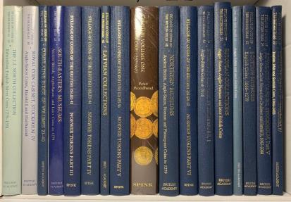 World Coins - British Academy/Spink: Sylloge of Coins of the British Isles, 1958-2017, a complete set of the 70 volumes