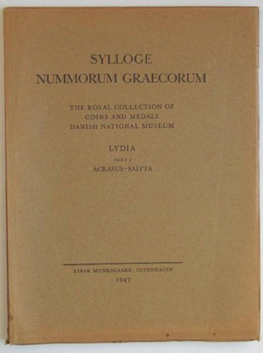 Ancient Coins - Sylloge Nummorum Graecorum Copenhagen. 27. Lydia. Part I Acrasus - Saitta