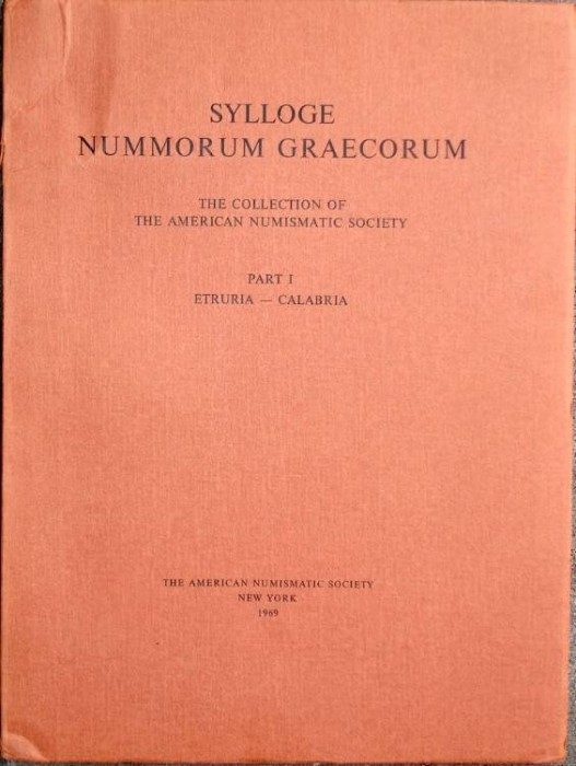 Ancient Coins - SNG ANS 1. Sylloge Nummorum Graecorum. The Collection of the American Numismatic Society, Etruria - Calabria