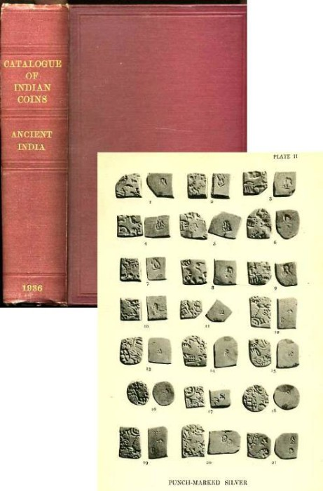 Ancient Coins - Allan: The Coins of Early India. British Museum Collection, 1936