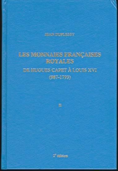 Ancient Coins - LES MONNAIES FRANCAISES ROYALES DE HUGHES CAPET A LOUIS XVI (987-1793). II