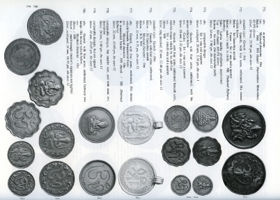 World Coins - Mitchiner: Indian Tokens: Popular, Religious, and Secular Art from the Ancient Period to the Present Day