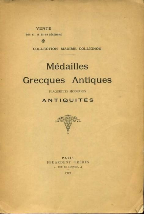 Ancient Coins - Feuardent Freres: Medailles Grecques Antiques, 1919