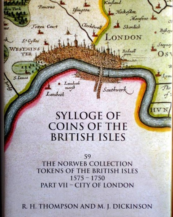 World Coins - SCBI 59. The Norweb Collection, Tokens 7, 1575-1750, Part VII. City of London