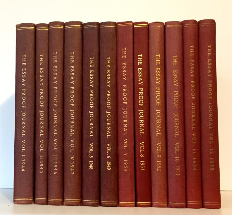 Ancient Coins - Essay-Proof Journal, Volumes 1-12, 1944-1956