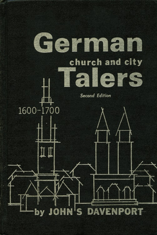 World Coins - Davenport. Vol 5. GERMAN CHURCH AND CITY TALERS 1600-1700