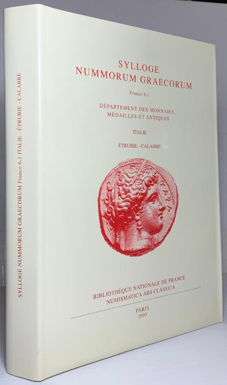 Ancient Coins - Sylloge Nummorum Graecorum France 6 - 1; Italie - Etrurie - Calabre